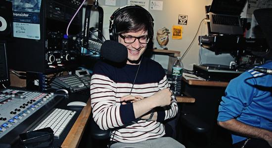 Tim Sweeney live broadcasting radioshow da NY: Beats In