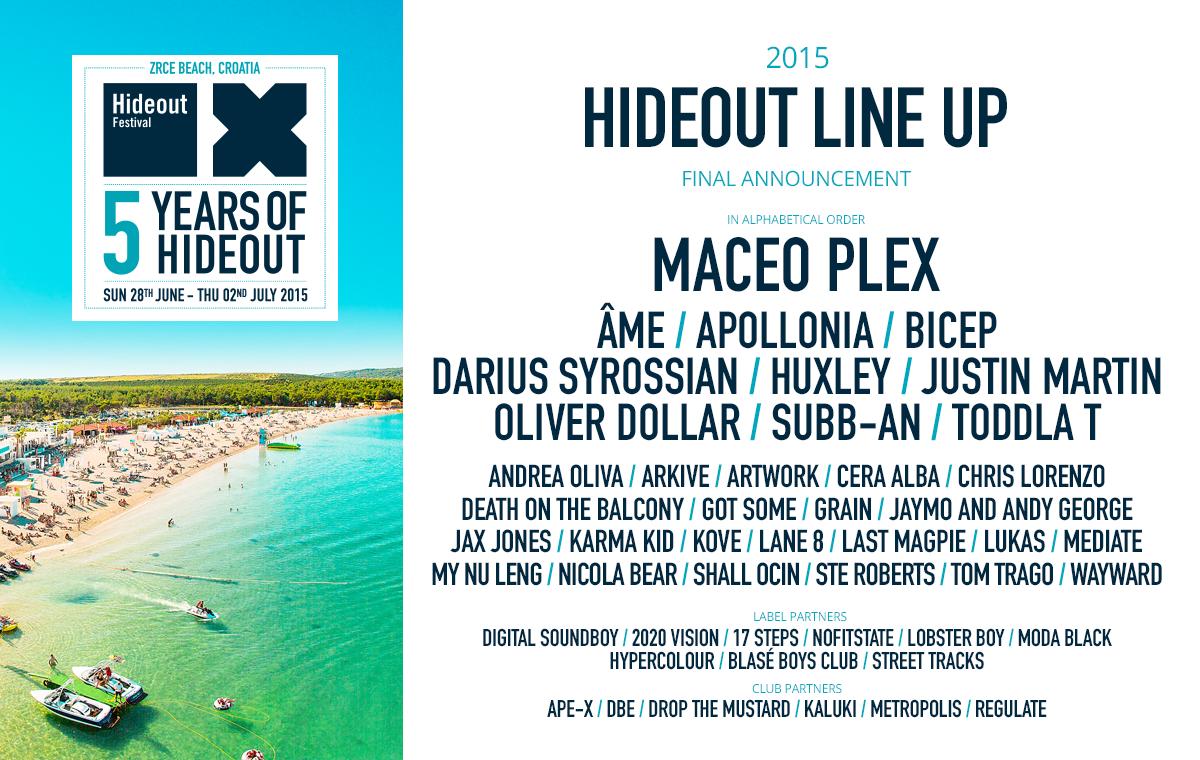 Hideout Festival Croatia