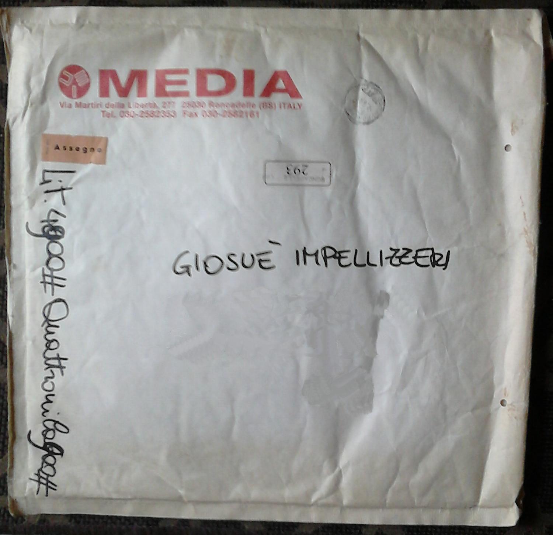 La busta con cui la Media Records spediva il materiale promozionale (1995)