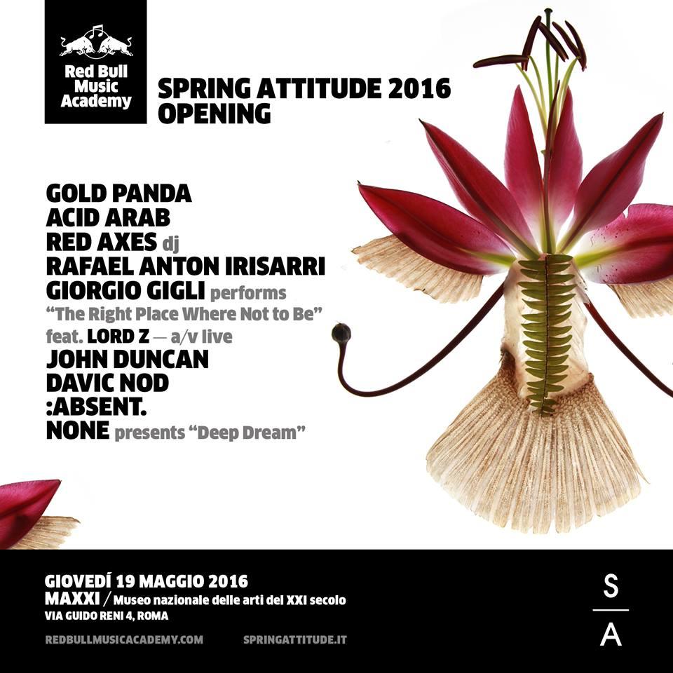 Spring Attitude RBMA