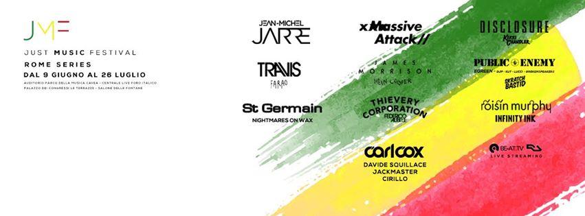Just Music Festival full program copertina