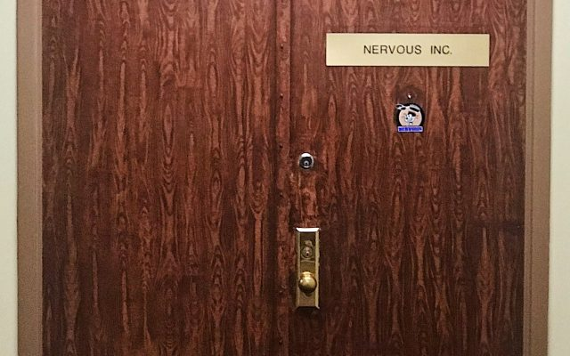 Ingresso ufficio Nervous Records New York