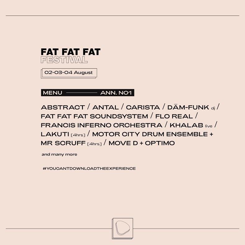 Fat Fat Fat Festival 2019 Fuori I Primi Nomi Ed 232 Subito